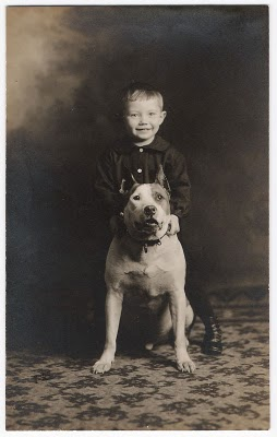 boy+with+pit+bull