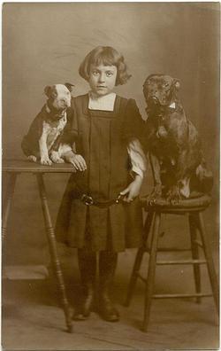 girlwithtwodogs1910