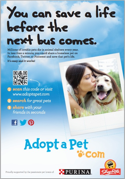 AdoptaPet Launches Philadelphia Billboard Campaign – Pet Poster