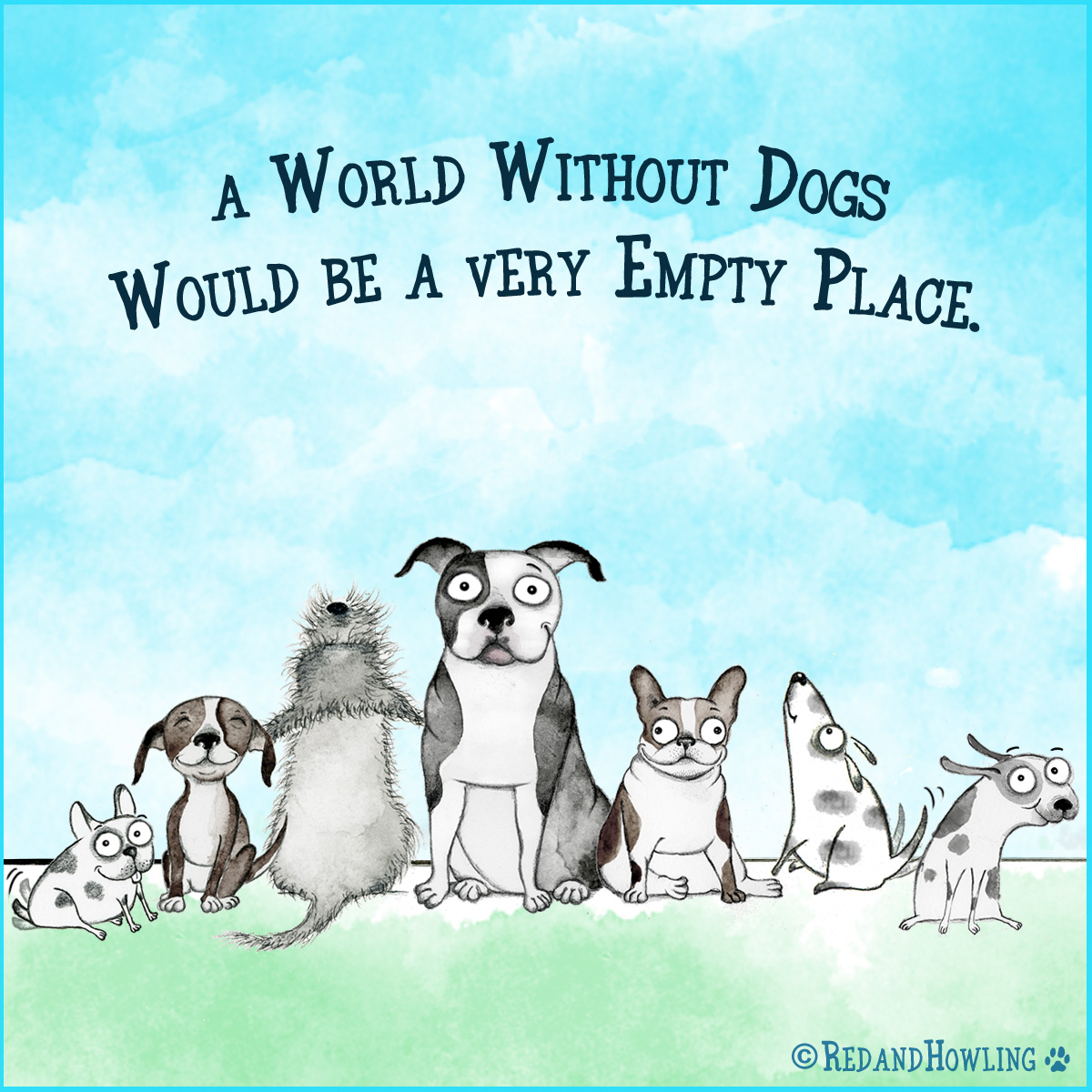 A world without dogs