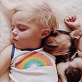 sleeping-puppy-baby