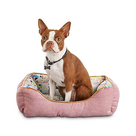 Oh Joy! Oh So Comfy! Geometric Pink Pet Bed