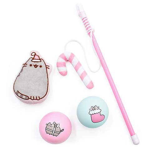 Pusheen Holiday Toy Gift Set for Cats