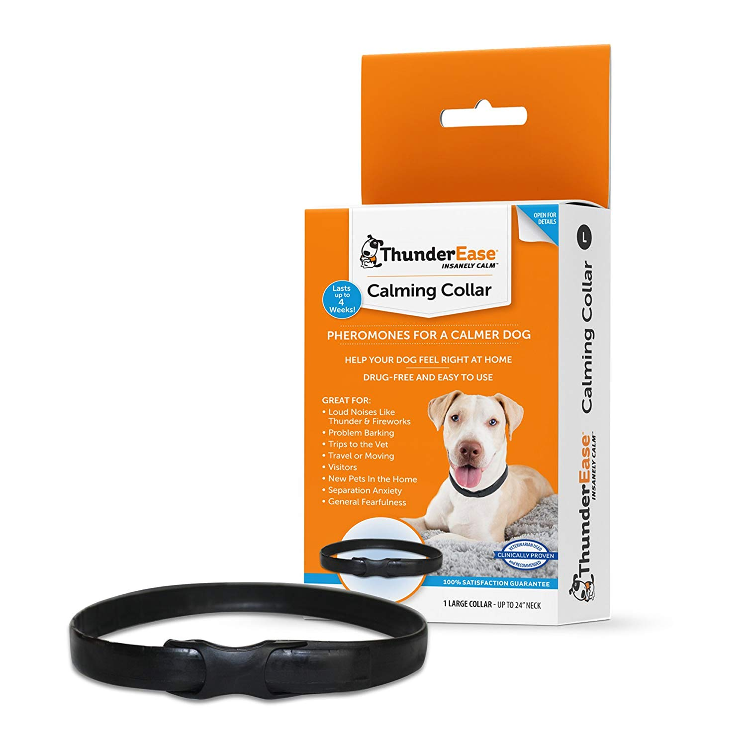 ThunderEase Calming Collar for Dogs