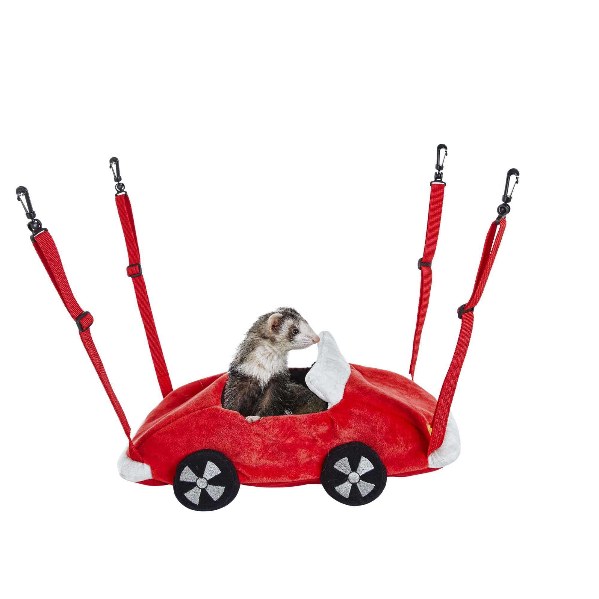 You & Me Racecar Small Animal Hanging Bed