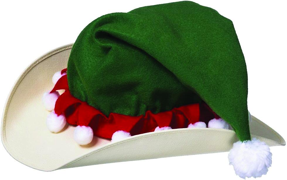Tough-1 Elf Hat Helmet Cover
