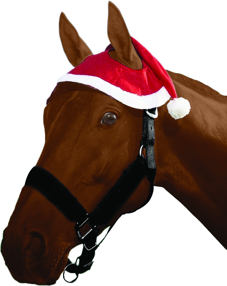 Tough-1 Santa Horse Hat