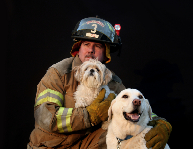 Firefighterwithdog